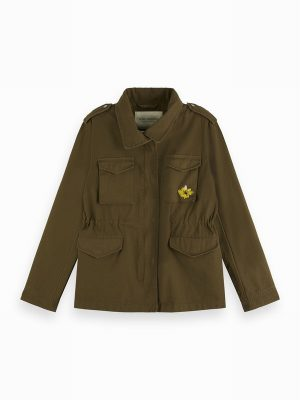 Military Festival Jacket – Scotch & Soda