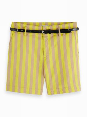 Striped Chino Shorts – Scotch & Soda