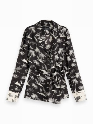 Printed Pyjama Blazer – Scotch & Soda