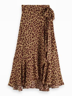 Midi Wrap Skirt – Scotch & Soda