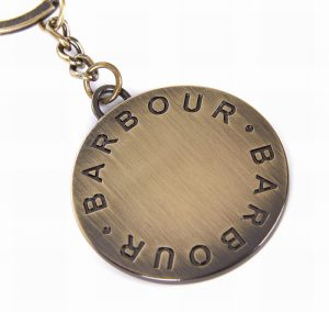 Barbour Key Ring
