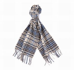 Barbour Houndstooth Scarf