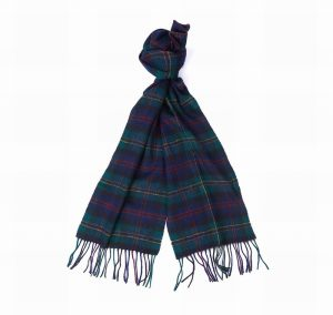 Barbour Check Tartan Scarf