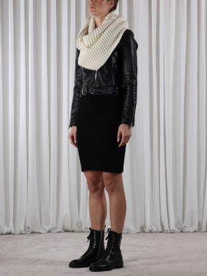Knitted Collar Snood
