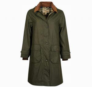 Barbour Kuzu Wax Duffle Coat